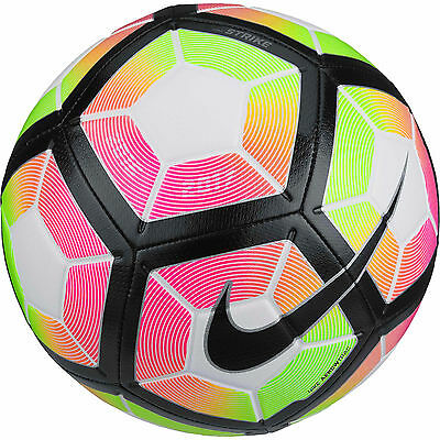 Football Nike Strike New 2017 Match Ball Size 4 White/ Red/ Green Save $8 On Rrp