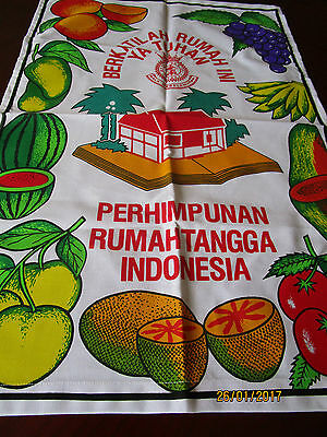 Tea Towel - Indonesia