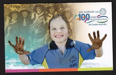 2010 Australian Decimal Stamps  - 100 Years of Guides PO Pack - MNH