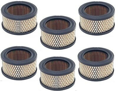 6 Pack Air Intake Filter Elements for Air Compressor # 14, A424  New