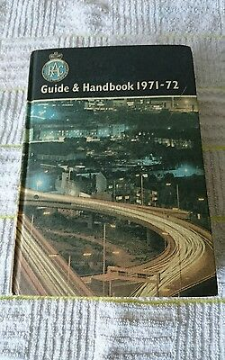 R.a.c Guide And Handbook 1971-1972