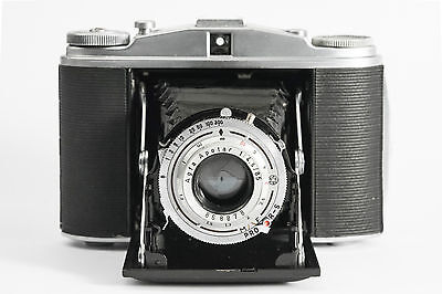Agfa Isolette Ii- Excellent Condition- With Its Leather Case