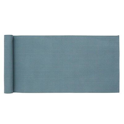 Swedish Woven Cotton Table runner in Blue  (35x120cm)