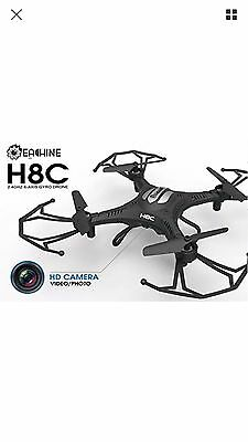 Eachine H8C Quadcopter With 2MP Camera 2.4G 6-Axis Headless Mode RC Drone