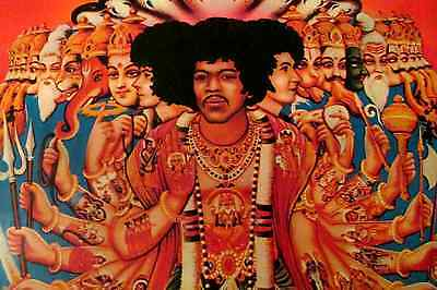 Jimi Hendrix Experience Lp Axis Bold As Love ( Lyric Insert) First Press Ex / Vg