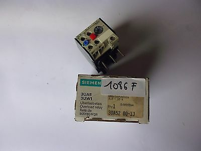 3UA52 00-1J siemens relai thermique thermal overload realy 6.3-10A