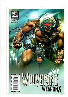 Marvel Comics Wolverine: Weapon X # 1 (NM) Variant Cover 2009