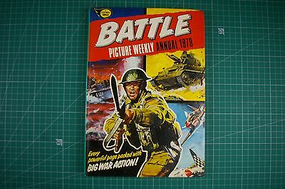 Battle: Picture Weekly Annual - Fleetway: 1979 HB [Annual] VGC