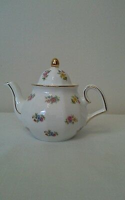 Wade Fine Bone China Teapot,The Regency Collection, Floral, miniature ,display
