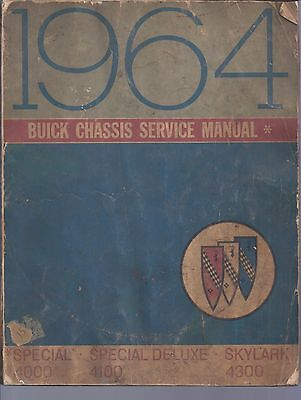 1964 Buick Chassis Service Manual Special,skylark