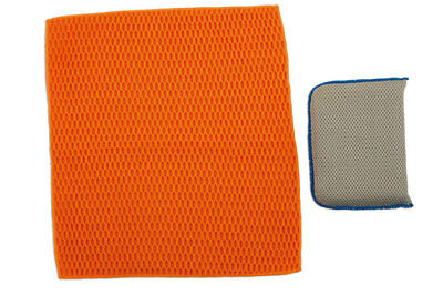 Laser Tools 5992 Sponge and Cloth Pack 2pc