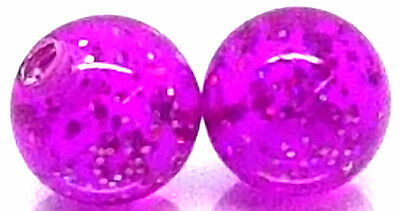 Quality Acrylic Replacement Spare Ball Balls Purple fr Barbell Labret Bar Ring