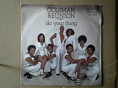 Vinile 45 giri COLEMAN REUNION - DO YOUR THING 1973 Mint-/Mint-