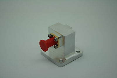 New Microwave WR62 adapter 11.5 - 20Ghz LOW IL<0.1db SMA Female Tested!
