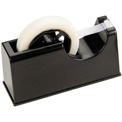 Officemate 2-in-1 Heavy Duty Tape Dispenser 1-Inch and 3-Inch Core, Black
