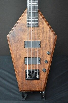 Schecter USA CUSTOM SHOP / Coffin Bass Aged Vintage Tint NAMM SHOW  #A2334
