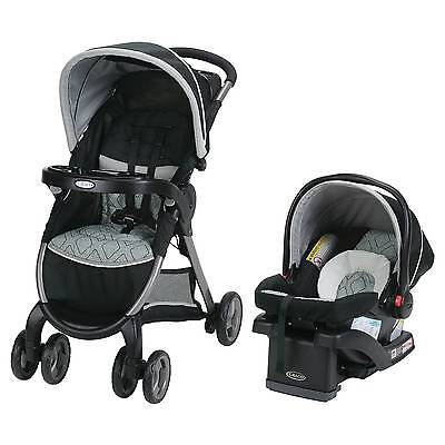 Graco® FastAction Fold Click Connect Travel System - Asher