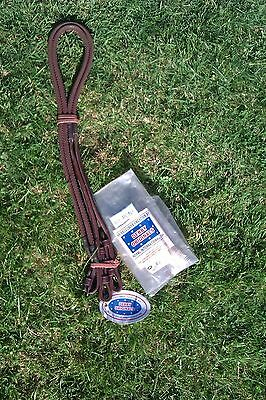 reins rubber /leather brown  Pony