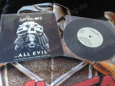 Satyricon ‎– All Evil (Satyricon's Debut Demo From 1992) EP