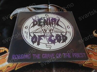 Denial Of God ‎– Robbing The Grave Of The Priest EP