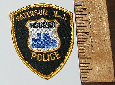 PATERSON HOUSING POLICE New Jersey Small Hat patch NJ PD