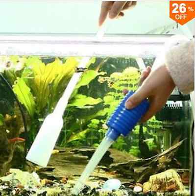 Siphon Vacuum Water Pump Gravel Cleaner Aquarium Filter