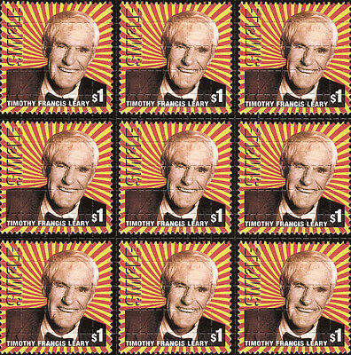 TIMOTHY LEARY SMILE - blotter art - psychedelic goa acid artwork