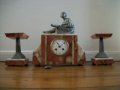Pendule Art Deco