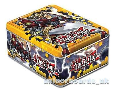 YuGiOh Collector Tin II With 100 Perfectly Mint YuGiOh Cards, Game Mat + 5 Foils