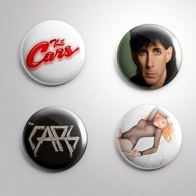 4 THE CARS - Pinbacks Badge Button Pin 25mm 1''