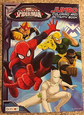 Spider-Man Jumbo Coloring and Activity Book New