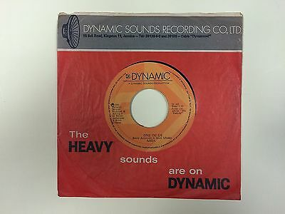 ABBA One of us JAMAICA PRESS SP DYNAMIC D 163 1981