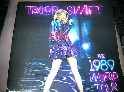 Taylor Swift 1989 World Tour Holograph Program Book  New In Excellent Condition