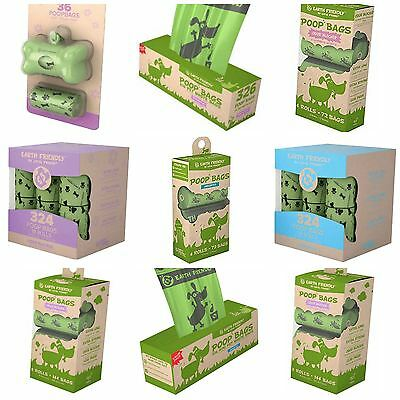 Earth Friendly Poop Bags (Lavender/Unscented) - Dog Poo Bags - FREE P&P