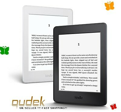 """Kindle Paperwhite 6"""" High Resolution Next-Gen (300ppi) Built-in Light 4GB NEW !!"""