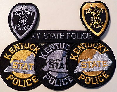 KENTUCKY State Police Patches - LOT of 6