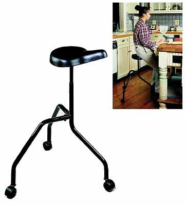 Roll-About Stool Chair for Mobility Daily Living Aid