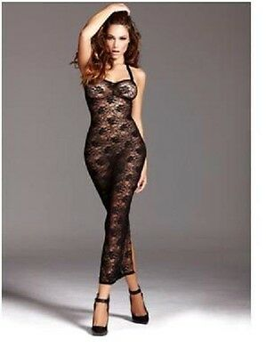 NEW BOXED Ann Summers Amira LongLace Dress - Temptation Range (size:small)(8-10)