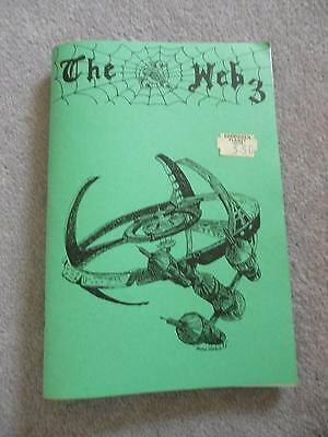 Blake's Seven 7 Vintage Fanzine: The Web # 3. A Deep Space 9 (DS9) crossover.