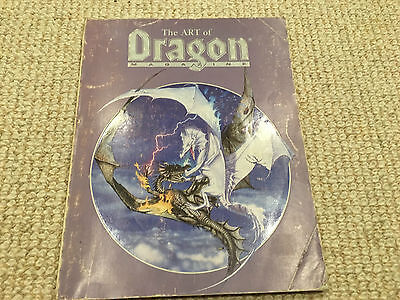 The art of Dragon Magazine Advanced Dungeons & Dragons AD&D