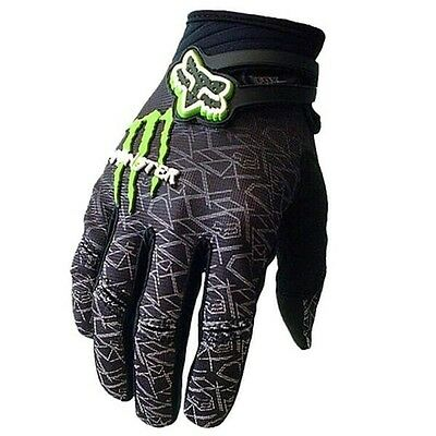 NEWEST FOX RACING Full Finger Gloves Motocycle Cycling Bicycle Racing MTB Mitts