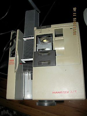 Hanimex Slide Projector With Magazines; Rotary Magazines;