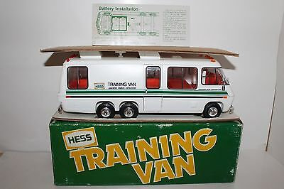 Excellent 1978 1980 Hess Toy Truck Training Van Original Box with Inserts & Card