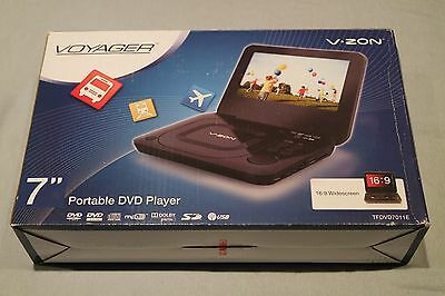 Voyager v zon portable dvd player tfdvd7011e - FANTASTIC QUALITY AND CONDITION!