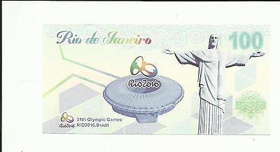 Rio 2016 Olympic Games  Cash Banknotes Uncirculated