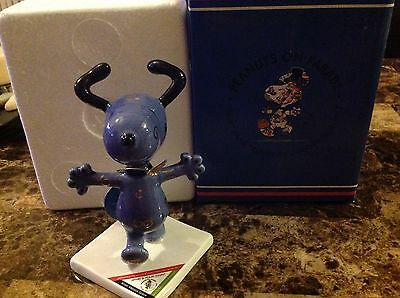 "NEW Westland Peanuts on Parade Snoopy ""What's your sign"" Figurine with Box #8412"
