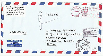 Saudi Arabia - METER  - COVER  - STAMPLESS TO USA - LOT (12)