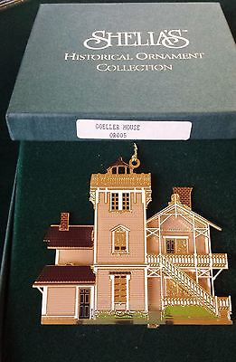 Shelia's Historical Ornament First Edition Goeller House Klamath Falls, OR 1995
