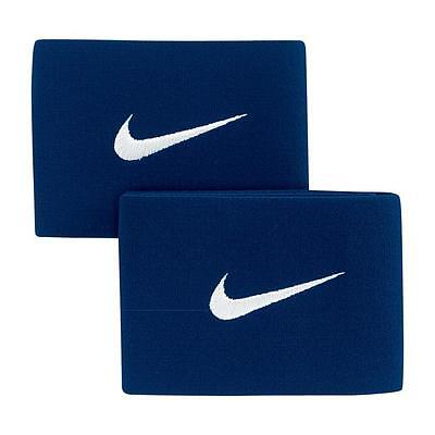 Guard Stays - Nike - One Size (Adjustable) Navy Blue- 100% Genuine Nike Product