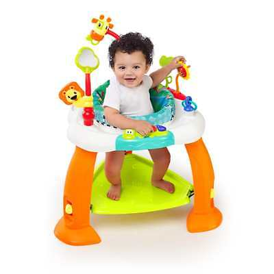 Baby Bouncer Jumper Exersaucer Learning Activity Pad Center Kids Child Exercise